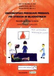 Endoskopske preiskave prebavil pri otrocih in mladostnikih