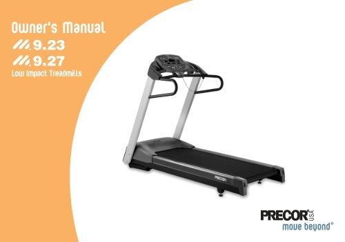 Cs5. 0 & cs3. 0 treadmill owner's manual gymstore. Com.