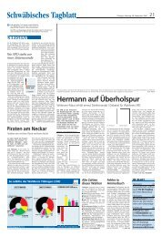 Schwäbisches Tagblatt - Winfried Hermann
