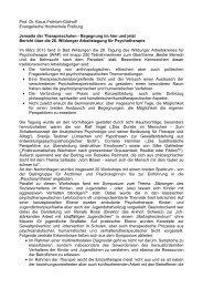 Prof. Dr. Klaus Fröhlich-Gildhoff Evangelische Hochschule Freiburg ...