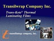 Trans-Kote - Transilwrap Co., Inc