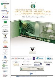 The 5th World Islamic Funds and Capital Markets Conference