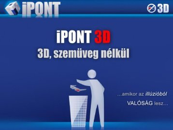 (3D)iagnosztika szemüveg nélkül
