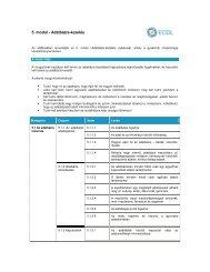 5. modul - Adatbázis-kezelés