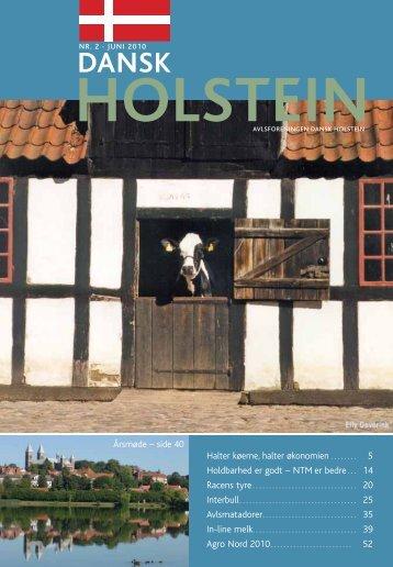 Halter køerne, halter økonomien . . . . . . . . 5 ... - Dansk Holstein