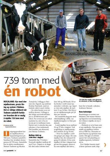 739 tonn med - Dansk Holstein