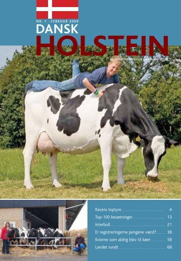 4 Er registreringerne pengene værd? . . . . . 38 ... - Dansk Holstein