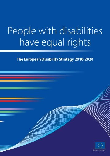 The European Disability Strategy 2010-2020