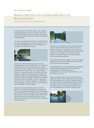 Asphaltbeton fuer aussergewoehnliche Belastungen - Trinidad Lake ...