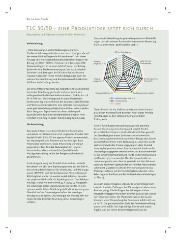 Beitrag online lesen bzw. speichern - Trinidad Lake Asphalt GmbH ...