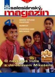 aktuálního vydání Salesiánského magazínu - Salesiáni Dona Boska