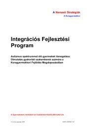 Integrációs Fejlesztési Program