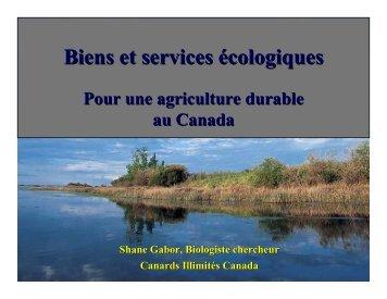 Biens et services écologiques