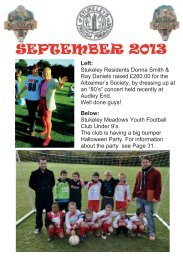 AUGUST 2013 - Stukeleys Magazine
