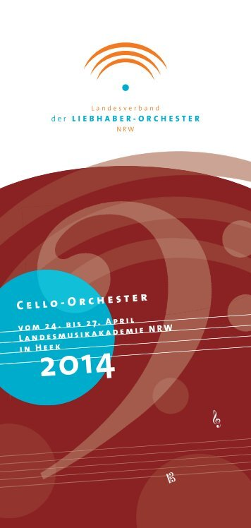 Cello-Orchester 2014