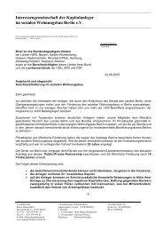 Schreiben der AIB an die Abgeordneten des Deutschen Bundestages