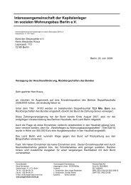 Brief an den Bund der Steuerzahler - Interessengemeinschaft der ...