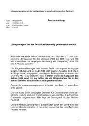 Pressemitteilung - Interessengemeinschaft der Kapitalanleger im ...