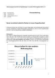 Pressemitteilung in Sachen Bürgschaften - Interessengemeinschaft ...