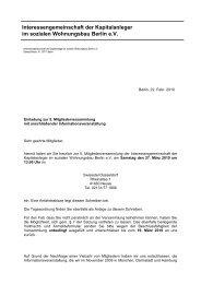 5. Mitgliederversammlung - Einladung und TO