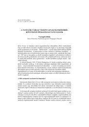 Teljes szöveg (PDF) - Magyar Pedagógia
