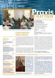 Ausgabe 4 / 2005 - Schwerpunktpraxis für Hämatologie und Onkologie