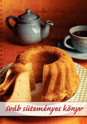 Sváb süteményes könyv