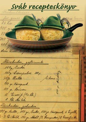 Sváb recepteskönyv