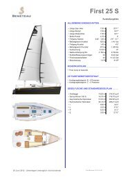 First 25 S - Graf Yachting