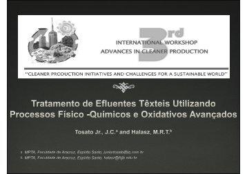 TRATAMENTOS OXIDATIVOS AVANÇADOS - Advances In Cleaner ...