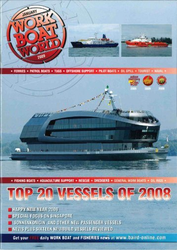 Page 1 @9 ° FERRIES ° PATROL BOATS ° TUGS ° OFFSHORE ...