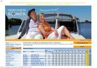 Yachtcharter und Motoryacht Mietpreise 2013 - Preisliste - online ...