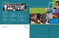 2007 Annual Report - English - Tri-Counties Regional Center