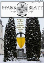 Pfarrblatt 01/2013 - Diözese Graz-Seckau