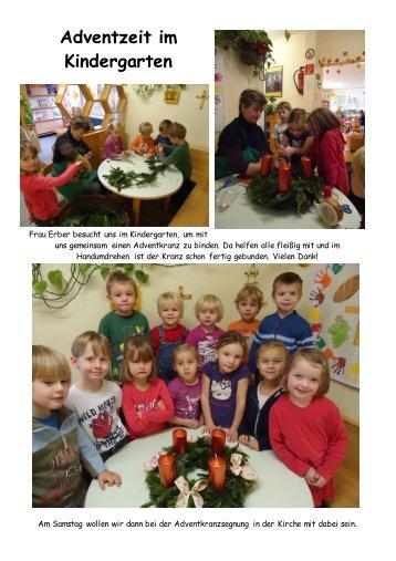 Adventzeit im Kindergarten