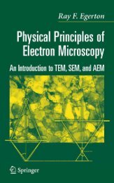 Physical Principles of Electron Microscopy: An Introduction to TEM ...