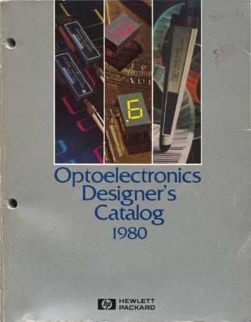 Optoelectronics Designer's Catalog - Al Kossow's Bitsavers - Trailing ...