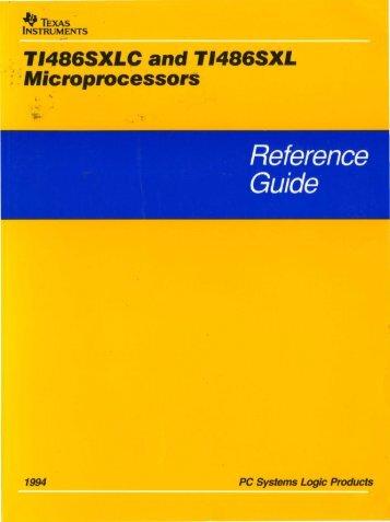 , ; : Microprocessors - Al Kossow's Bitsavers