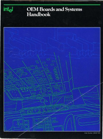OEM Boards and Systems Hanbook 1989 - Al Kossow's Bitsavers