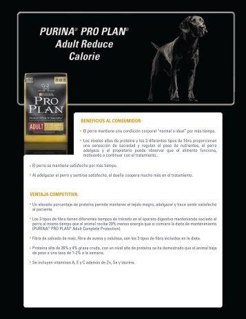 ADULT REDUCE CALORIE - VeterinariosenWeb
