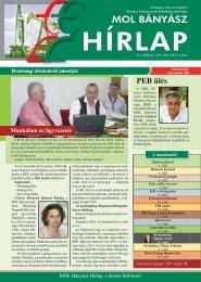 2013. június - Magyar Olaj- és Gázipari Bányász Szakszervezet