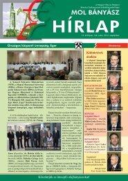 2012. szeptember - Magyar Olaj- és Gázipari Bányász Szakszervezet