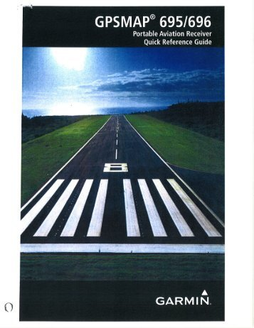 Garmin 696 Quick Reference - Engineers Flying Club