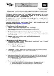 1.1. ponthoz csatolandó dokumentumok - Általános Vállalkozási ...