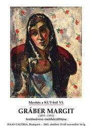 GRÁBER MARGIT - Haas-Galéria