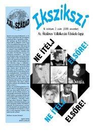 2006. november.pm6 - Általános Vállalkozási Főiskola