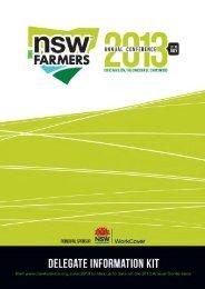 Delegate Information Kit - NSW Farmers Association