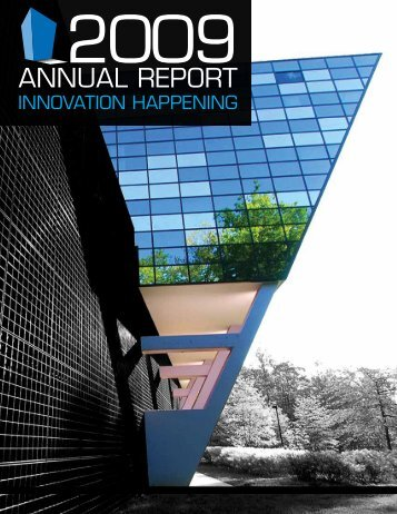 ANNUAL REPORT - Center for Innovative Technology