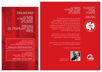 Download Einladung - ABCSG