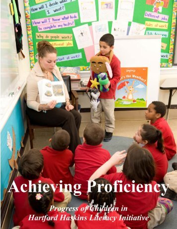 Achieving Proficiency.pub - Hartford Foundation for Public Giving